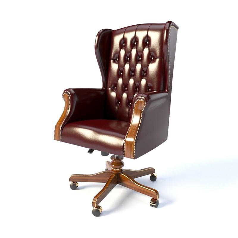 armchair modenese gastone 3D