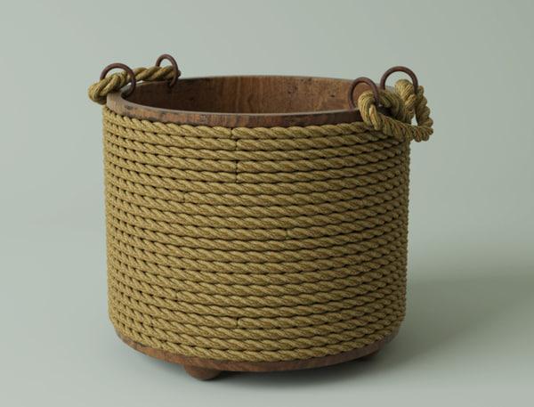 3D bucket ropes