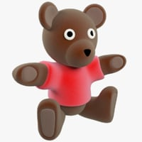 stuffed toy bear model