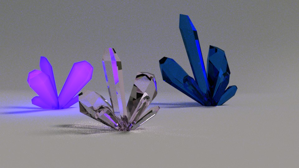crystal props film 3D model