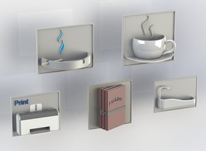 plate printing pack 3D