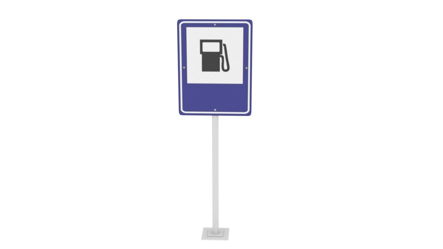 traffic fuel station 3D model