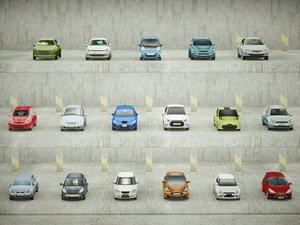 3D 17 5doors car