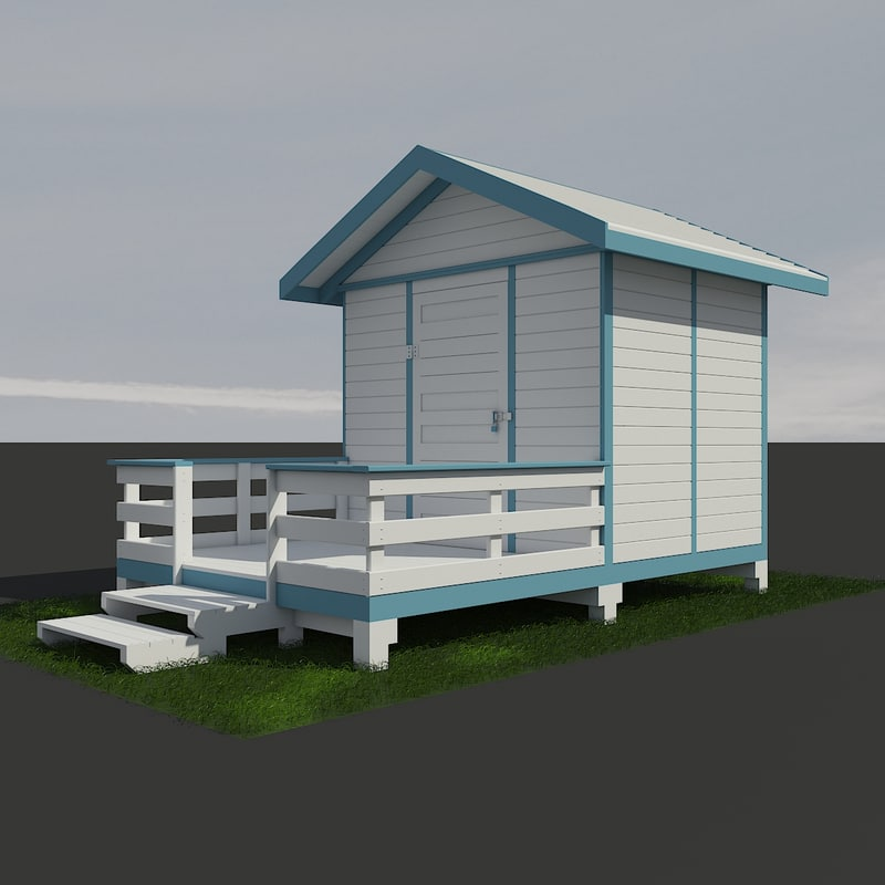 hobby play house design 3D