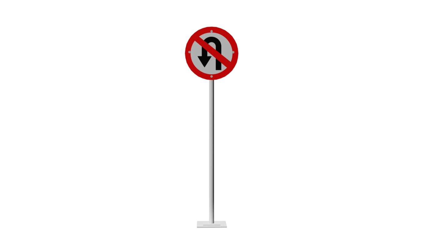 3D traffic forbidden curve