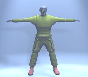 character armor model