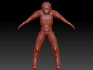 x-com muton 3D model