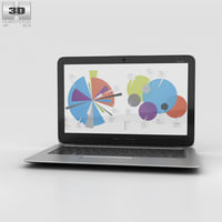 3D hp elitebook folio