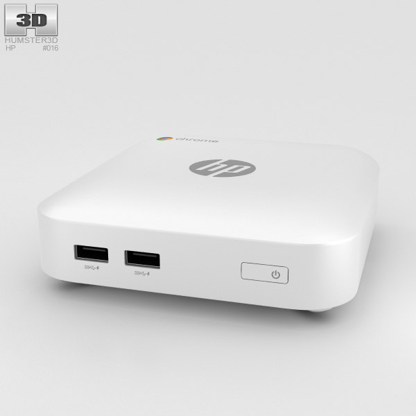 hp chromebox chrome 3D model