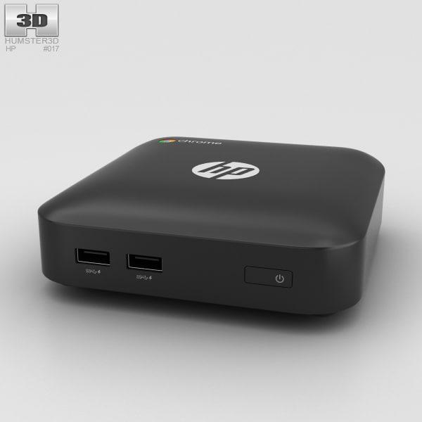 hp chromebox chrome 3D model