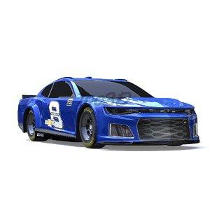 nascar race 3D model
