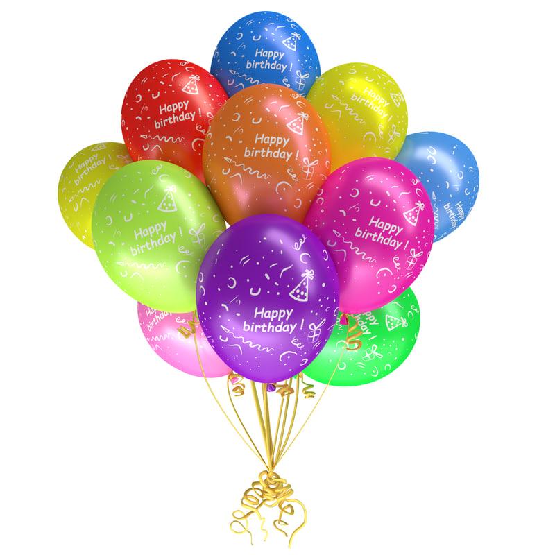 happy balloons model