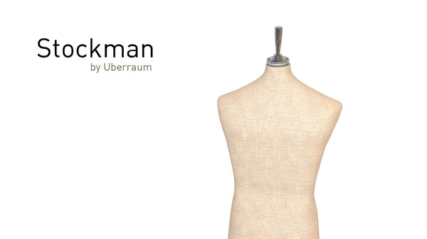 3D man stockman