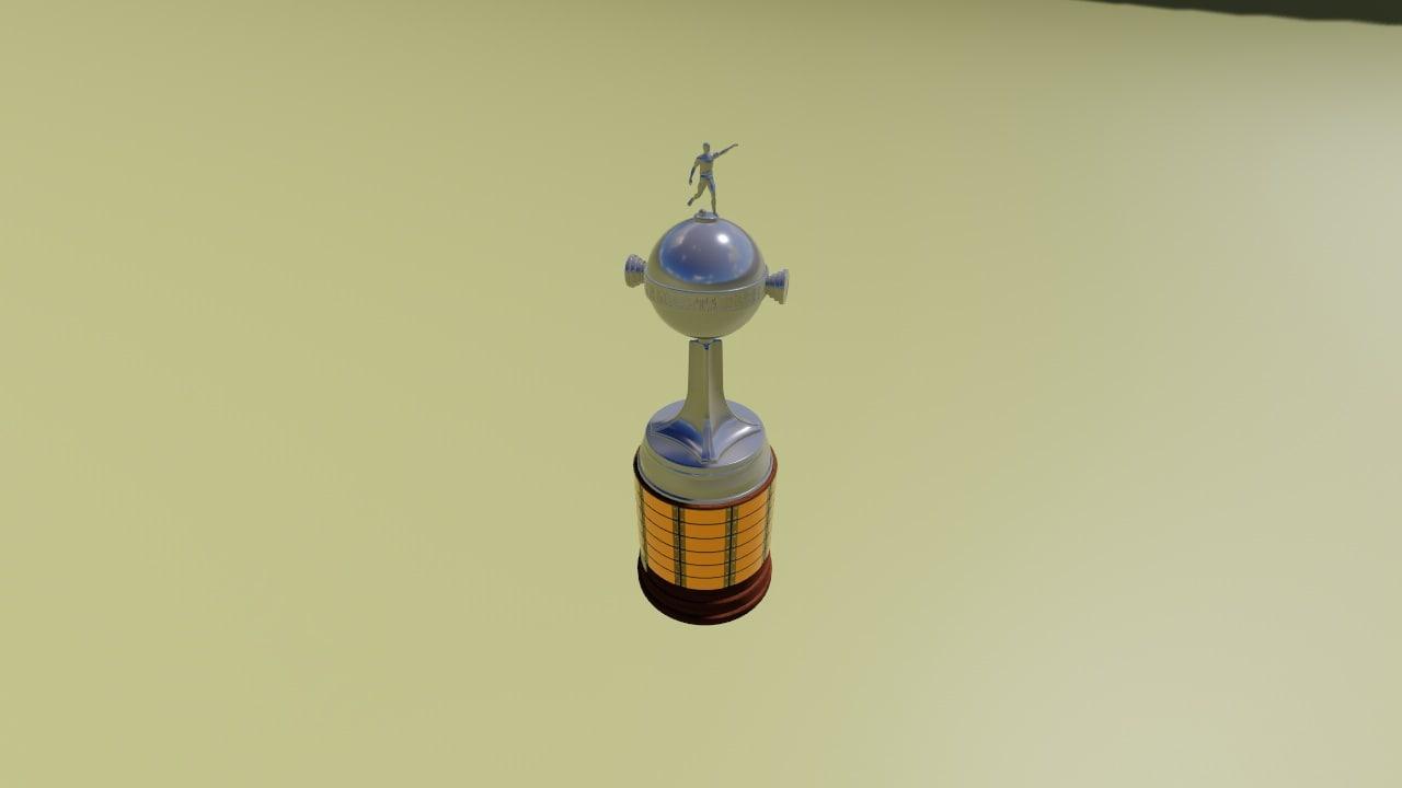 copa libertadores amrica 3D model