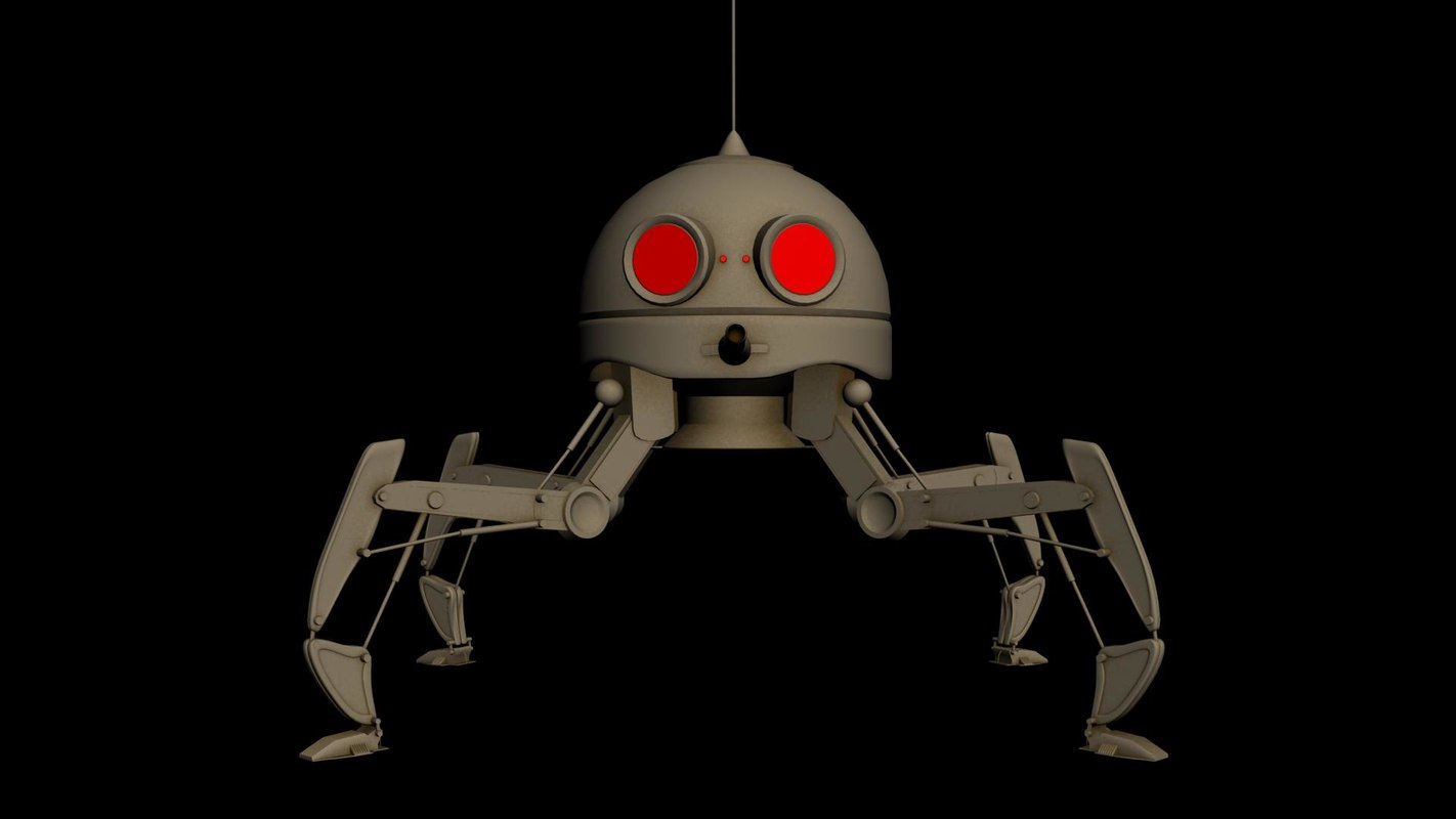 spaider droid 3D model