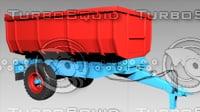 3D eb-4 trailer model