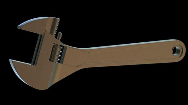 monkey wrench model