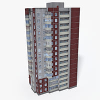 Lowpoly East Europe Building 20