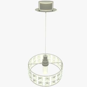 3D pendant lamp marchetti model