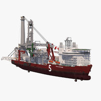 Heavy Lift Pipe-lay Multi Purpose Vessel