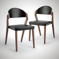 3D designer chair model