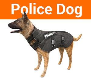 police dog model