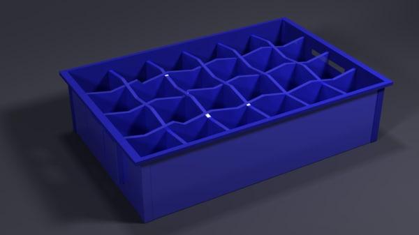 beer crate model