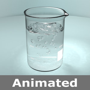 water bubbles 3D model