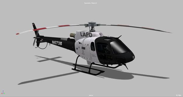 3D eurocopter as350
