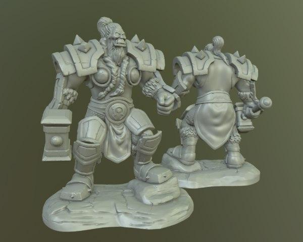 3D thrall printing