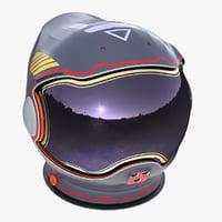 3D astronaut helmet