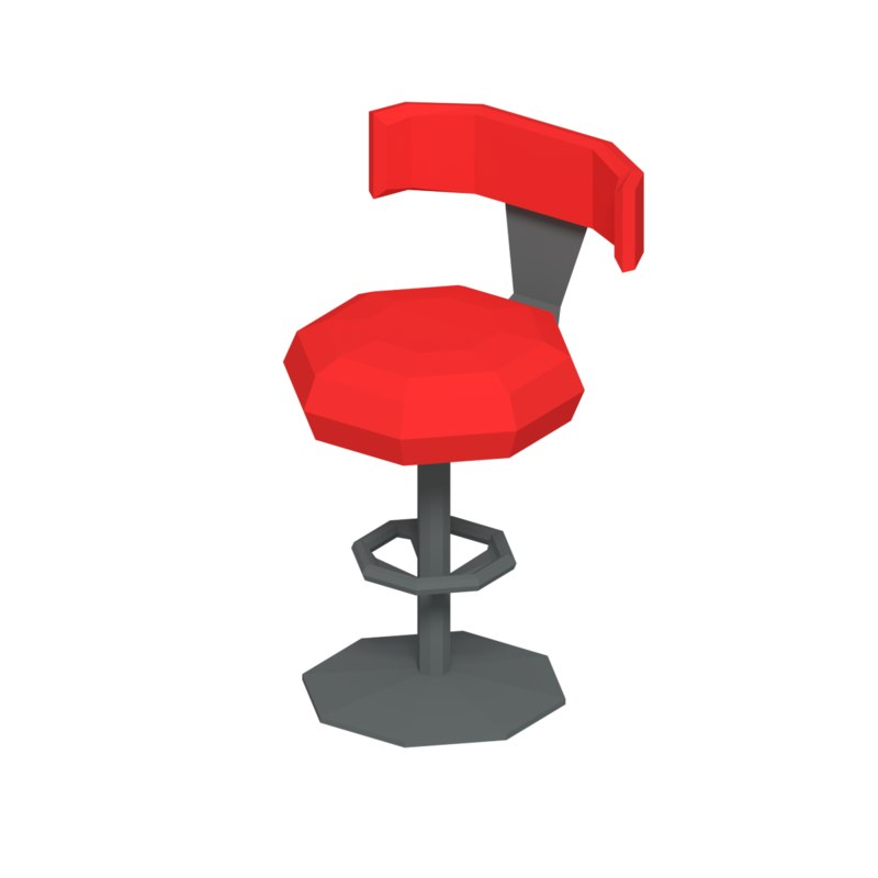 simple chair 3D model