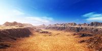 terrain 3D model