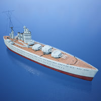 3D hms nelson royal navy