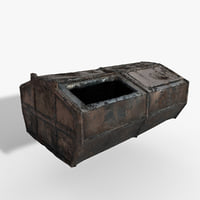 Garbage container (Gameready - Photoscan)