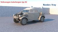 volkswagen kubelwagen 82 3D