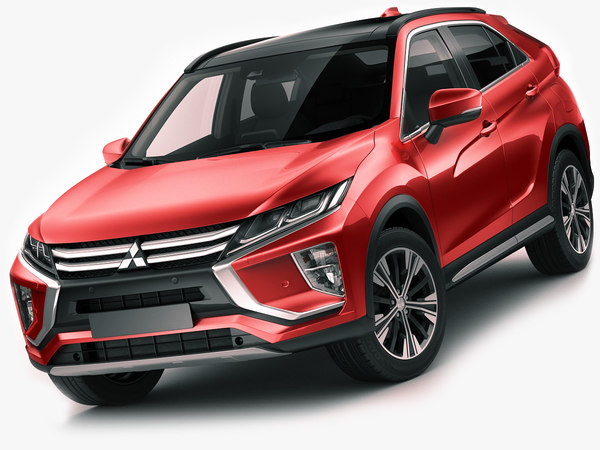 mitsubishi eclipse cross 3D model
