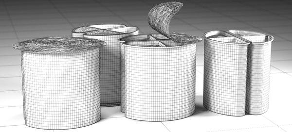 3D snack 2017 raw model