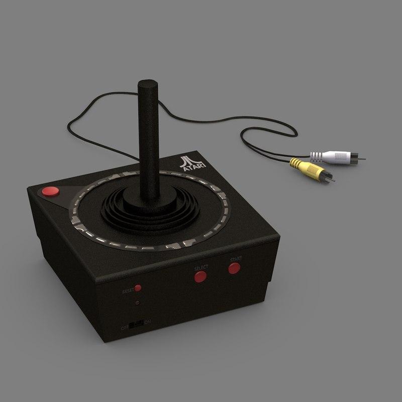 3D atari plug