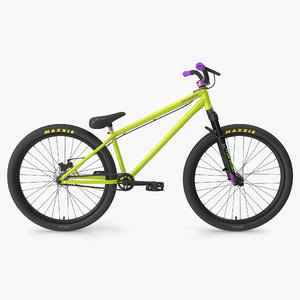 mtb bicycle dirt jumping 3D model