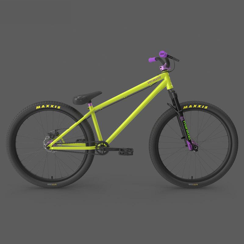 mtb bicycle dirt jumping 3d model turbosquid 1195215 rh turbosquid com