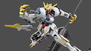 asw-g-08 gundam barbatos lupus 3D model