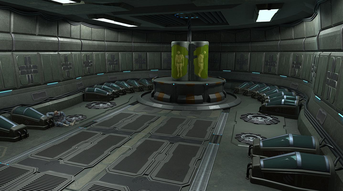 Game ready Sci-fi level