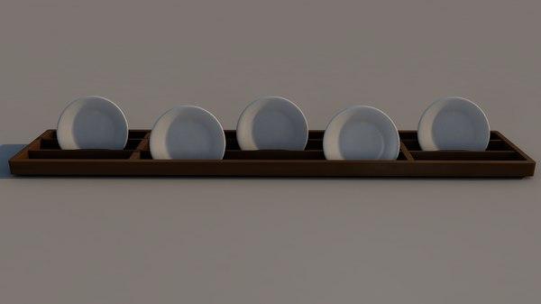 rack plates 3D model