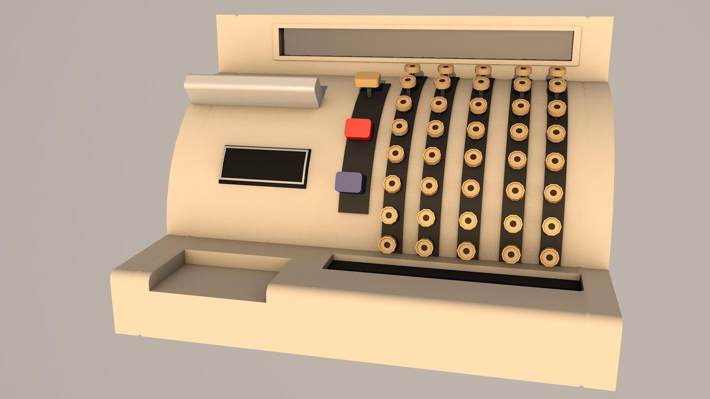 3D cash desk
