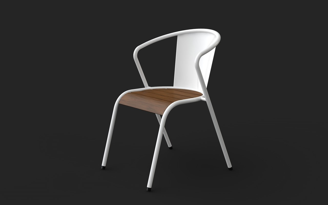 portuguese design chair 3D