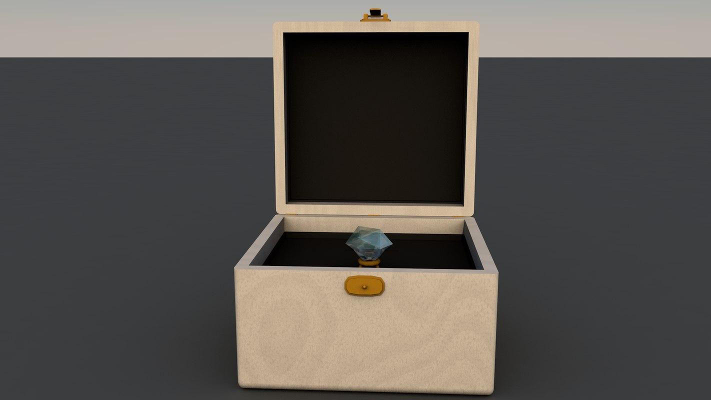 ring box 3D model