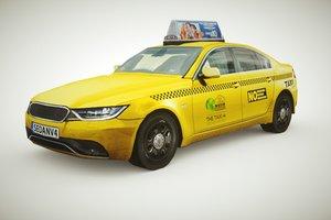 generic taxi v2 3D