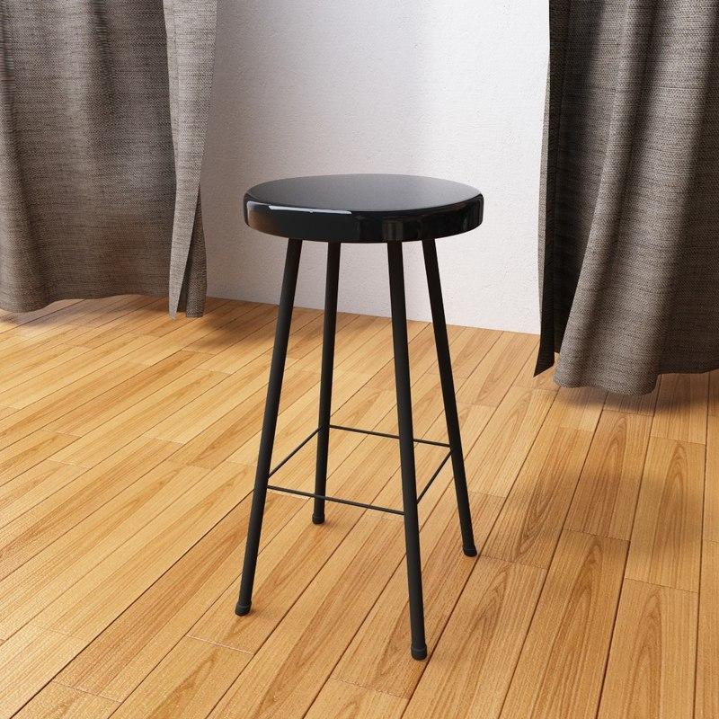 stool tabure 3D model