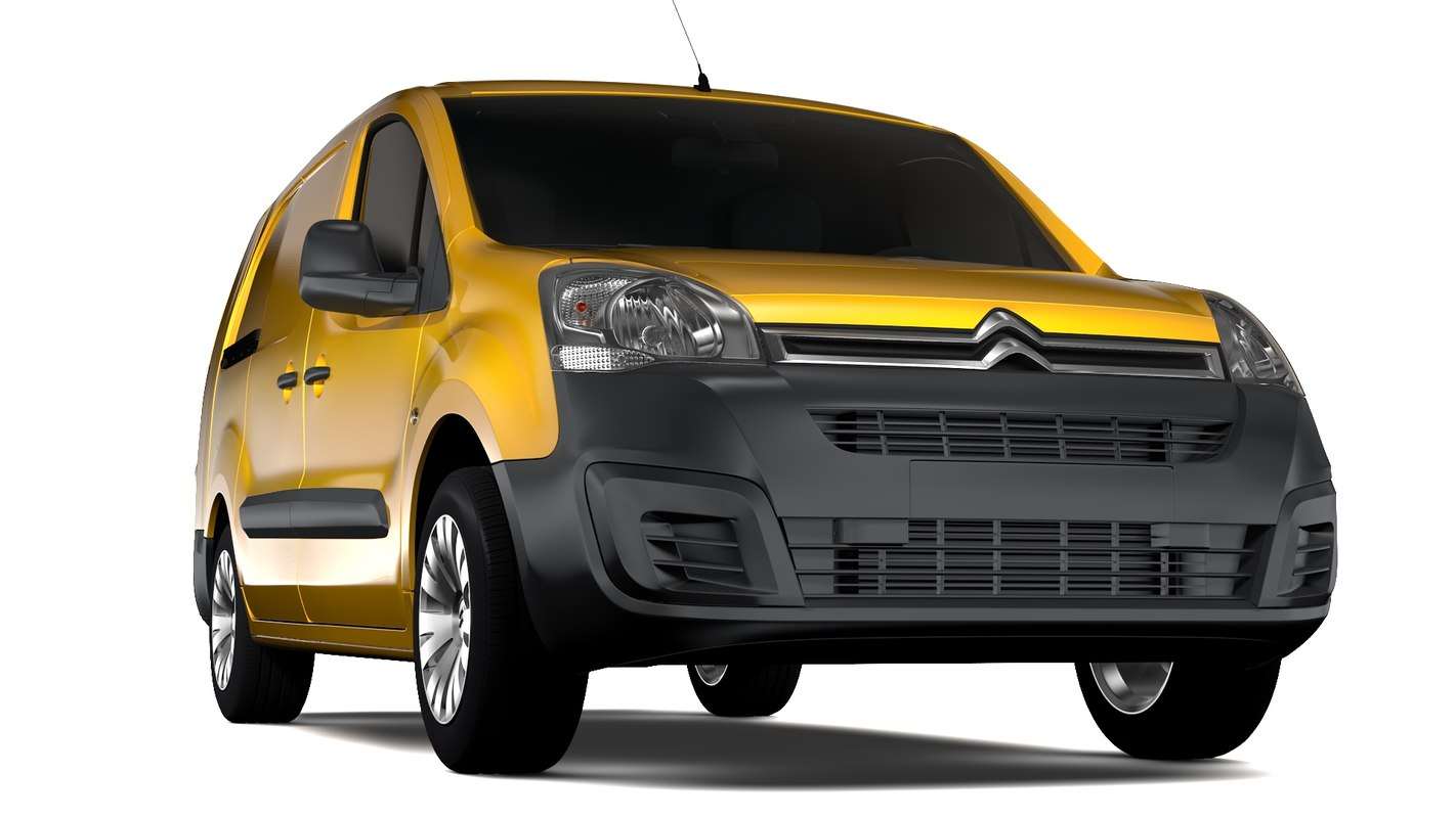 3D model citroen berlingo van